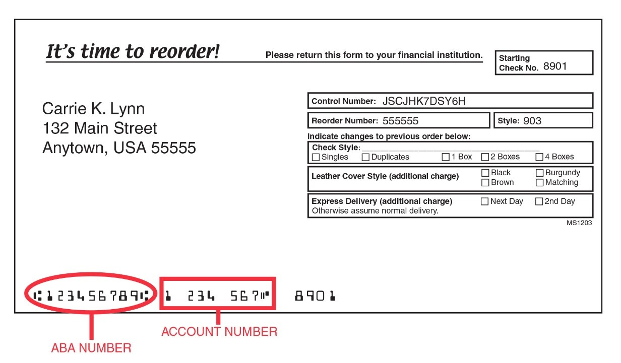 Locate Routing Numbers